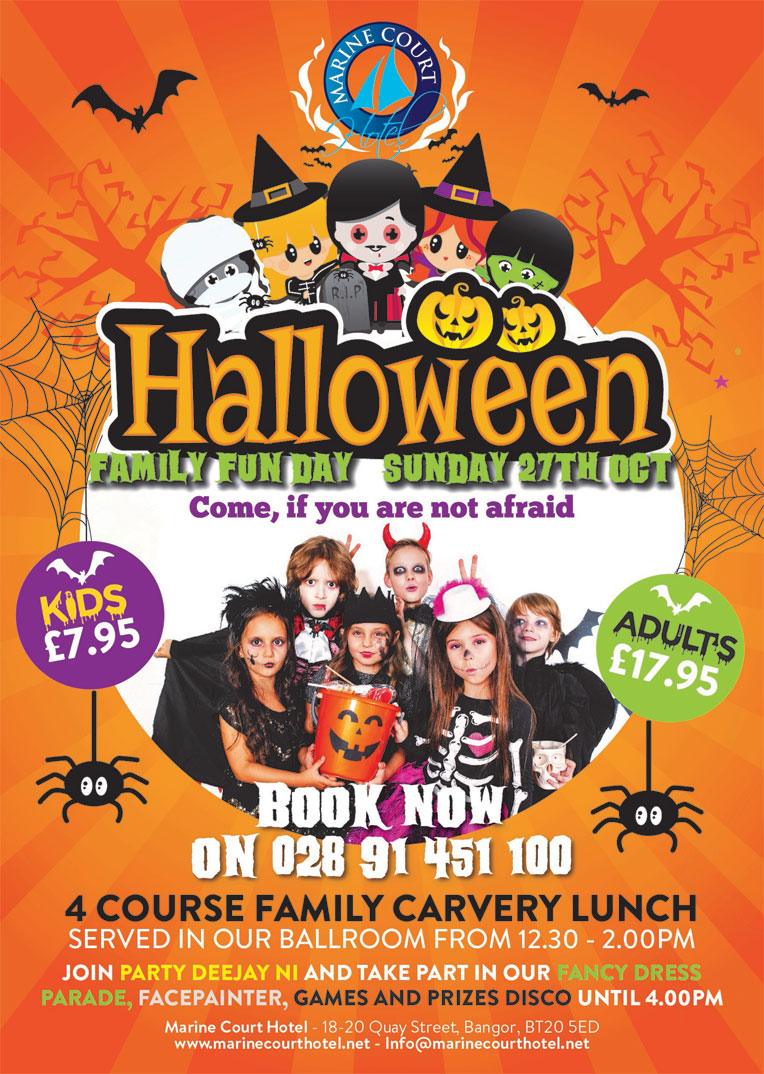 halloween family fun day bangor